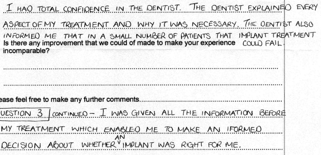 dentist Testimonial 10