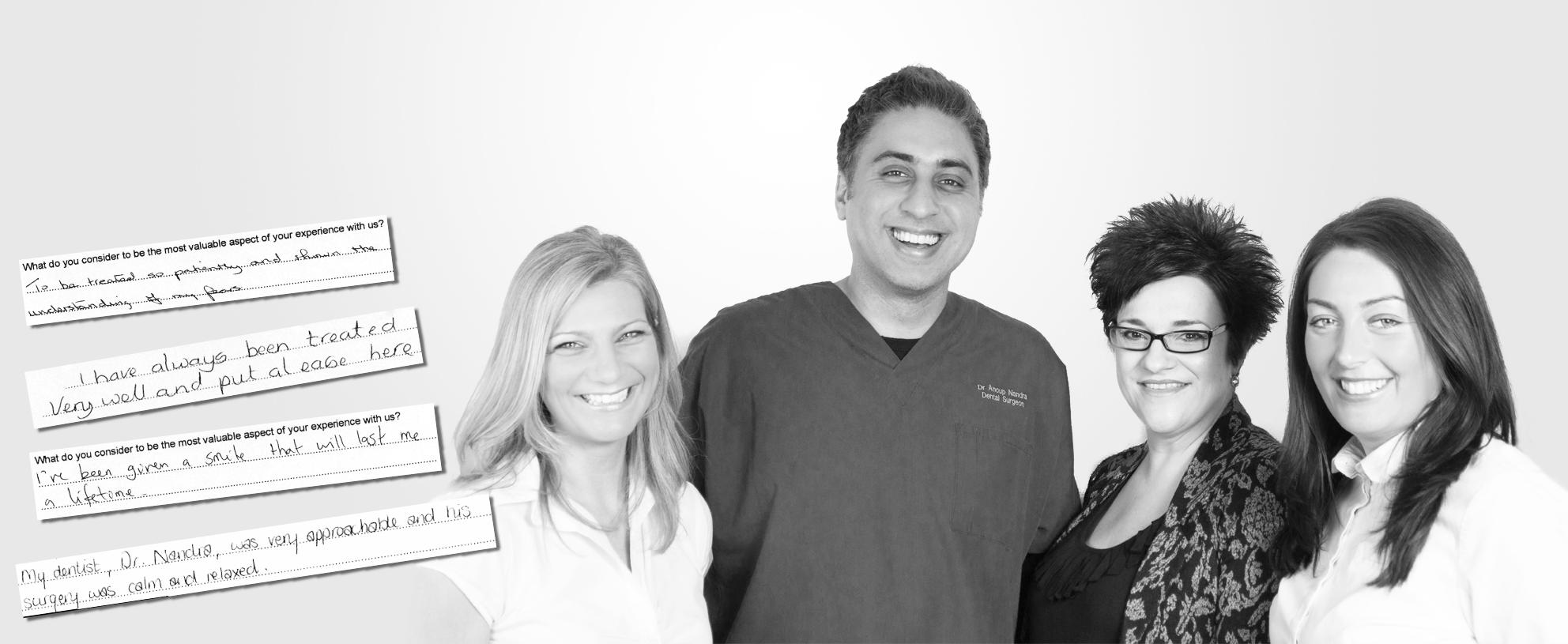 Rock Dental Team Testimonials